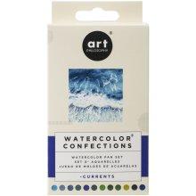 Prima Watercolor Confections Watercolor Pans 12/Pkg-Currents