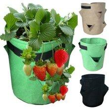 Garden Potato Planting Grow Bags Vegetable Strawberry Flower Pot Bag