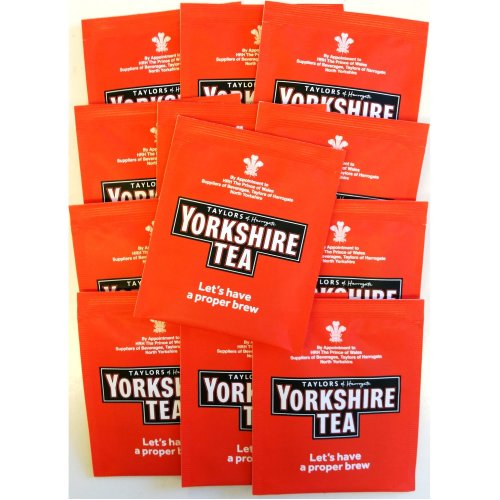 Yorkshire Tea - Individual Enveloped Tea bags