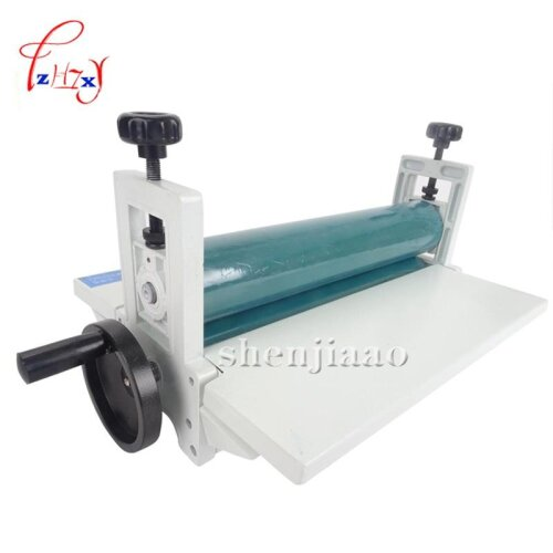 (As Seen on Image) Manual Roll laminating Machines Photo Vinyl Protect Rubber Cold Laminator