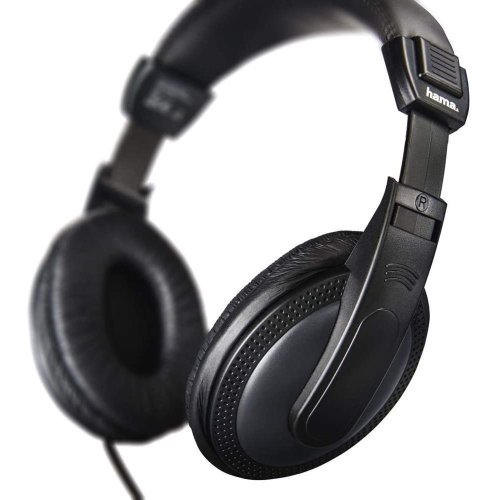 "Basic4TV"" TV Black headphones, over-ear 5m Long cable headset"