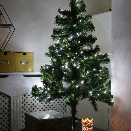 Christmas Mains Powered String Lights - Multifunctional, White LEDs, Indoor & Outdoor String Lights