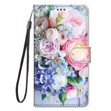 OPPO A15 Painted Leather Case bouquet