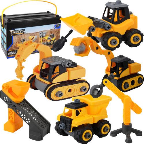 Take Apart Toy Truck / Digger Kids Play Set