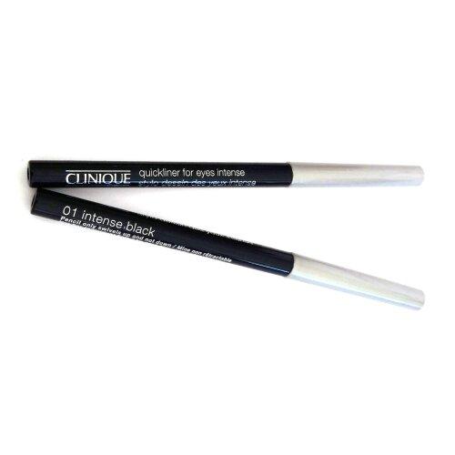 Clinique Quickliner For Eyes Intense 01 Intense Black 0.14 g x 2