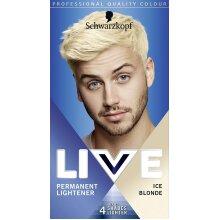 Schwarzkopf Live Men Permanent Hair Colour For Him 00B Ice Blonde Shade