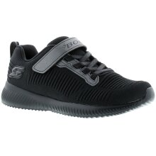 Skechers Bobs squad charm lea Younger Boys Trainers black 10-2 UK Size