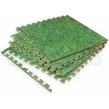 Grass Effect Eva Mats Interlocking Soft Foam Mats