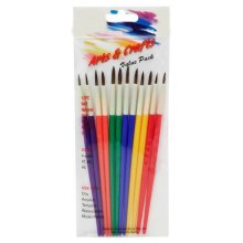 Set of 12 pcs paint brush value pack art and crafts tool
