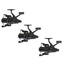 3 x Mitchell Avocast 7000 FS Black Edition Carp Fishing Reel