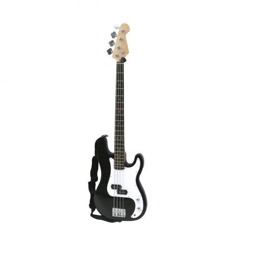 Oypla PB Precision Style Black 4 String Electric Bass Guitar