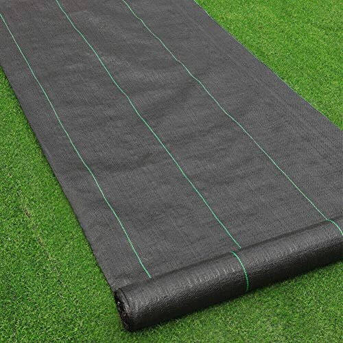 Garden Weed Control Fabric Membrane 3m x 15m