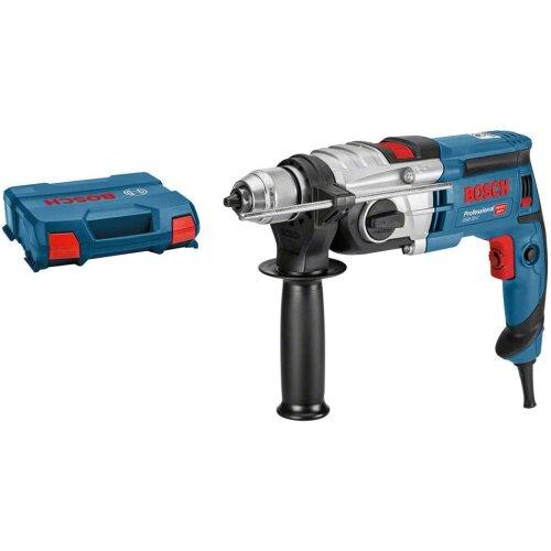 Bosch Professional GSB 20-2 - Hammer drill (850 W, 2 speeds, 3000 rpm, Ø max concrete drilling 18 mm, in case)