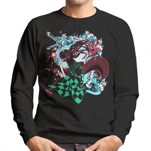Demon Slayer Siblings Kimetsu No Yaiba Men's Sweatshirt