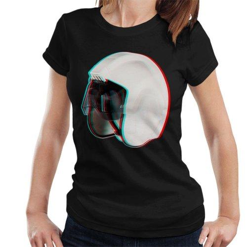 Original Stormtrooper Rebel Pilot Stunt Helmet 3D Effect Women's T-Shirt