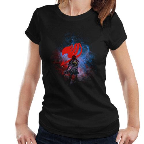 Cloud City 7 Fairy Tail Erza Silhouette Kids T-Shirt