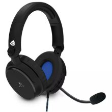 4Gamers PRO4-50s Stereo PS4 Xbox One PC Gaming Headset 3.5mm Jack + Mic - Black