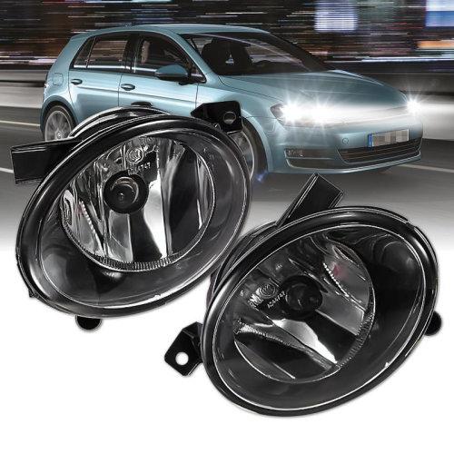 Single 12V 55W Driving Front Bumper Light Fog Lamp for VW Jetta Sportwagen GOLF MK6 10-12