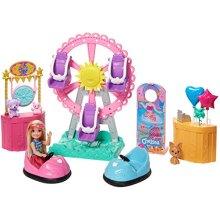 Barbie GHV82 Club Chelsea Doll & Carnival Playset