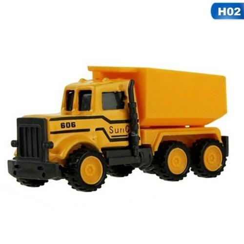 (Loading Truck) Mini Construction Truck Car Model Toy Kids Gift