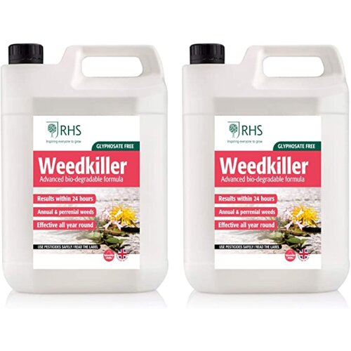 RHS 2 x 5L Ready to Use Weedkiller Glyphosate Free
