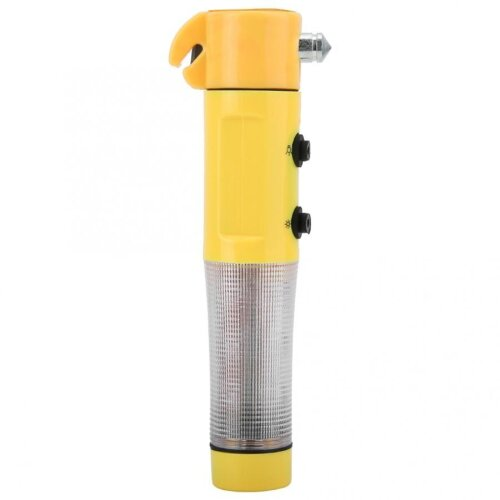 (As Seen on Image) 4 In 1 Multifunctional Car Emergency, Escape Hammer Window Breaker, Flashlight Belt Cutter