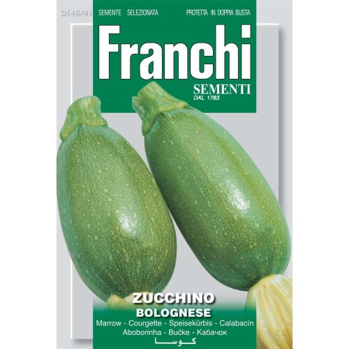 Franchi Seeds of Italy - DBO 146/41 - Courgette - Bolognese - Seeds