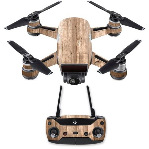MightySkins DJSPCMB-On The Fence Skin Decal for DJI Spark Mini Drone Combo Sticker - On The Fence