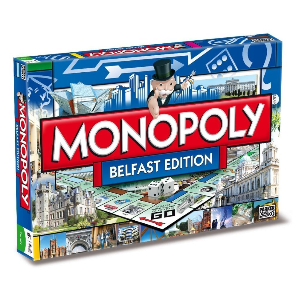 Belfast Monopoly Board Game