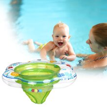 Inflatable Swimming Ring Float with Seat for Babys, Toddler Swimming Training Ring Kids