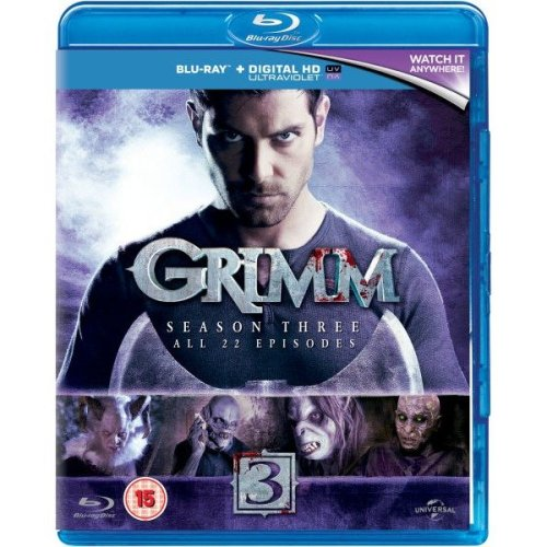 Grimm Season 3 Blu-Ray [2014]
