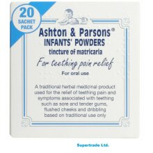 Ashton And Parsons Teething Pain Relief Powders 20 Sachets Ashton & Parsons