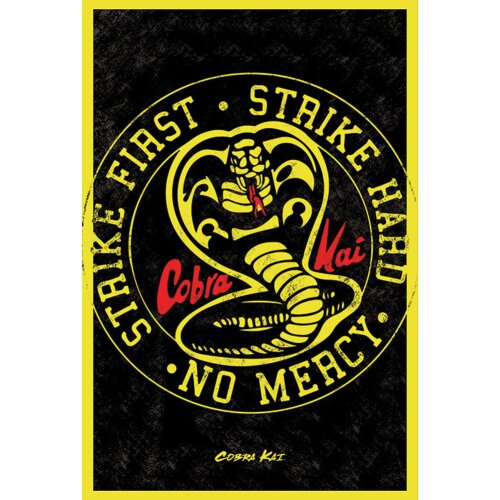 Cobra Kai Poster Emblem 224