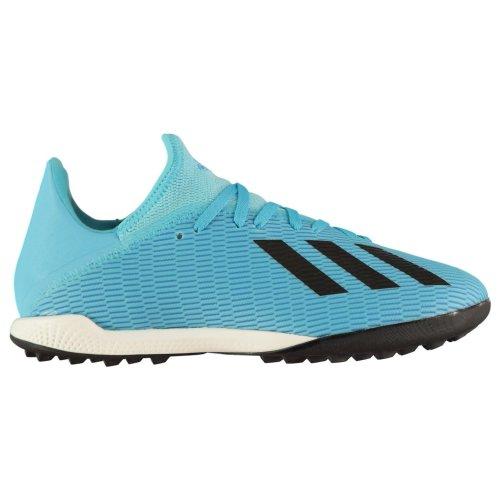 Íntimo Dictadura Prohibición  10, Blue) adidas X 19.3 Astro Turf Football Boots Mens Cyan/Black Sports  Footwear on OnBuy