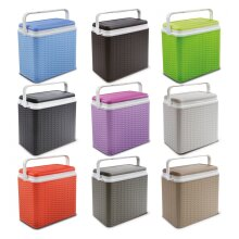 24 Litre Rattan Design Cooler Box Ice Pack Option