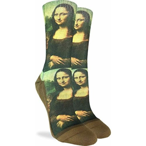 Socks - Good Luck Sock - Women's Active Fit - Mona Lisa (5-9) 5096