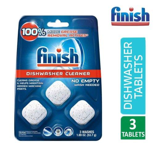 Finish In-wash Dishwasher Cleaner Clean Hidden Grease & Grime 1.89oz