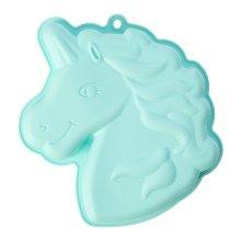 Zing Unicorn Cake Mould Bright Teal