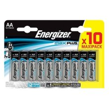 Energizer Maxplus Pack Of 10 Aa Batteries ENERLR6B10MAXPLUS