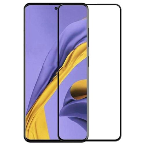 Full Coverage Tempered Glass Screen Protector For Samsung Galaxy A51