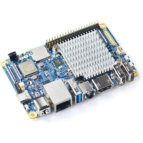 FriendlyElec NanoPC T4 RK3399 ARM Dual-Camera Micro PC with Gbps Ethernet, WiFi and Bluetooth,Support OpenWrt, Artificial Intelligence & Dee