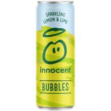 Innocent Bubbles Sparkling Lemon & Lime Cans - 12x330ml