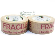 BT50 – FRAGILE HANDLE ME WITH CARE – 48mm x 50m - 2 ROLLS