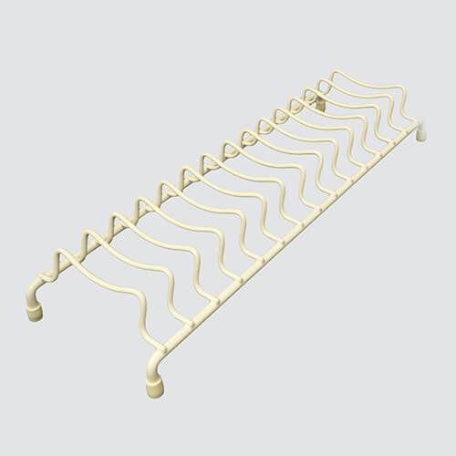 Delfinware Wireware Cream Popular Plate Rack