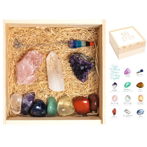 Healing Crystals - Crystal Set for Crystals and Gemstones Healing