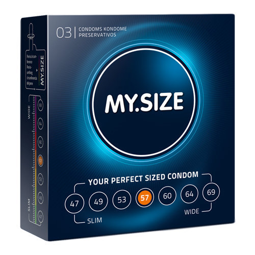 MY.SIZE 57 mm 3pcs  Pharmacy Condoms - My.Size