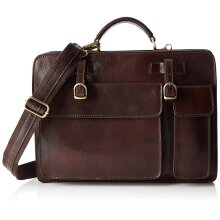 37x26x9 cm Leather Bag - Organizer - Made in Italy