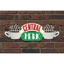 Friends Central Perk Brick Maxi Poster