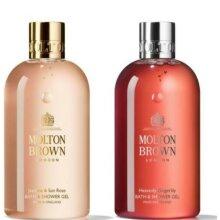 Molton Brown Jasmin Sun Rose & Gingerlily Body Wash Set 300ml