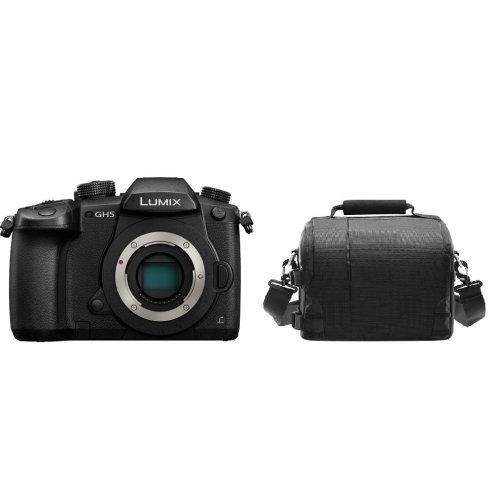 PANASONIC DMC-GH5 Body Black + camera Bag
